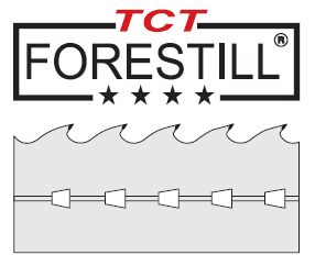 Denture carbure TCT FORESTILL