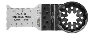 30mm Plunge and flush-cut for metal. Fine cut