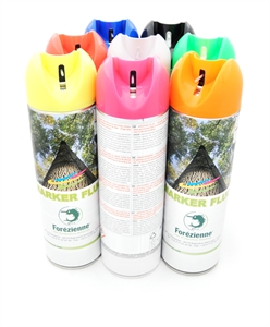 Fluorescent paint spray