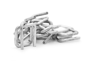 Galvanized strapping buckles