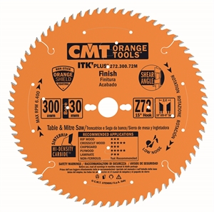 ITK Plus crosscut circular saw blades