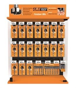 Display cabinets for router bits, cutter heads and Forstner bits