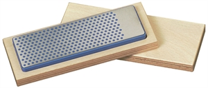 Universal diamond whetstones in hardwood case