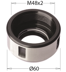Clamping nut for \