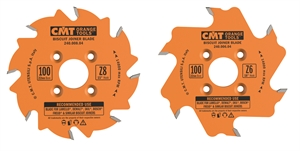 Biscuit joiner circular saw blade
