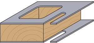 Panel pilot router bits with guide