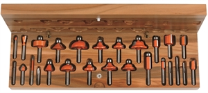 26 piece router bit sets