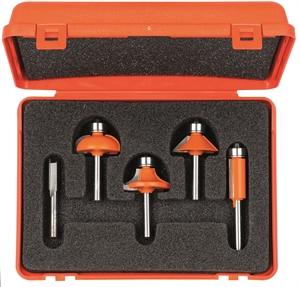 5 piece profile router bit sets