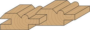 Wainscot/paneling router bits