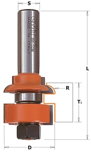 Rail and stile router bit sets