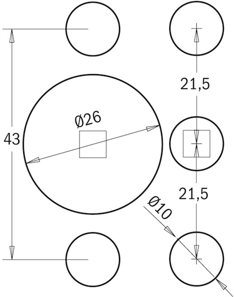 Cmt333 03 spare parts and accessories for universal for Boring but big template
