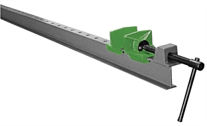 Door clamp line I beam